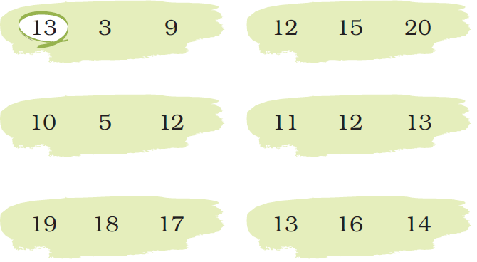 ncert solutions class 1 maths chapter 5 numbers from ten to twenty 59