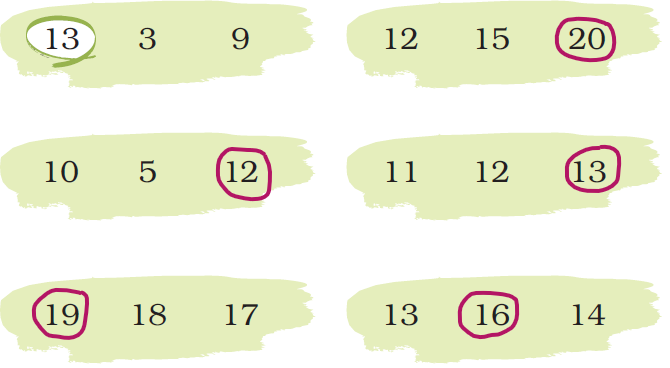 ncert solutions class 1 maths chapter 5 numbers from ten to twenty 60