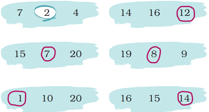 ncert solutions class 1 maths chapter 5 numbers from ten to twenty 62