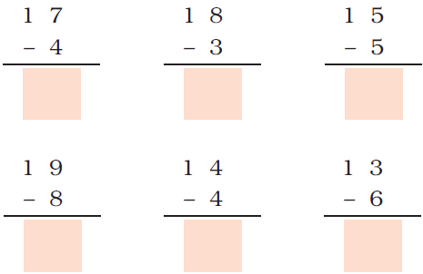 ncert solutions class 1 maths chapter 5 numbers from ten to twenty 71