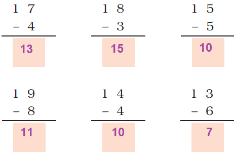 ncert solutions class 1 maths chapter 5 numbers from ten to twenty 74