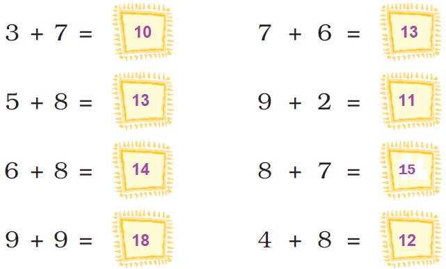 ncert solutions class 1 maths chapter 5 numbers from ten to twenty 76