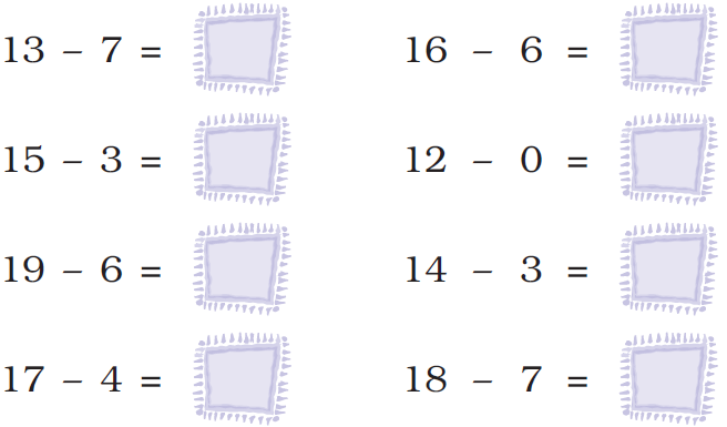 ncert solutions class 1 maths chapter 5 numbers from ten to twenty 77