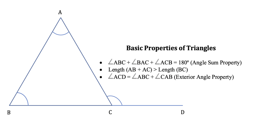 Basic Properties of Triangles 1